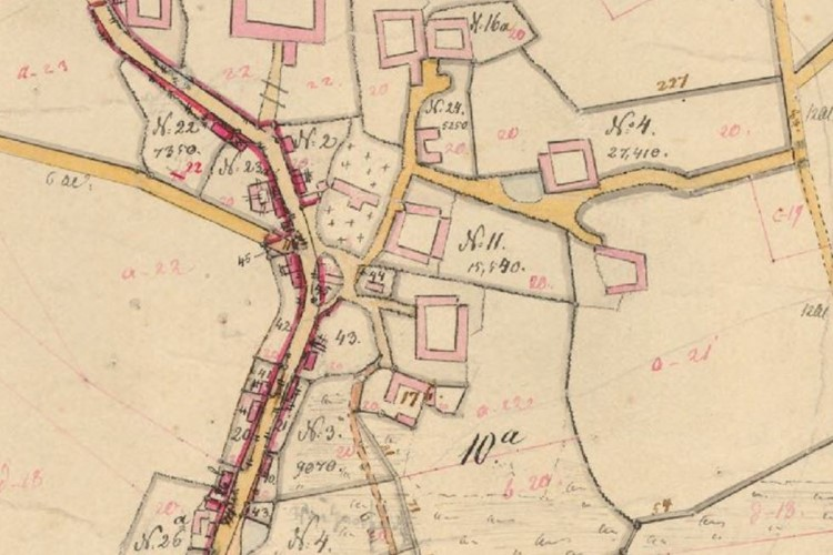 Identify Your Ancestor's Land in Historical Cadastral Maps